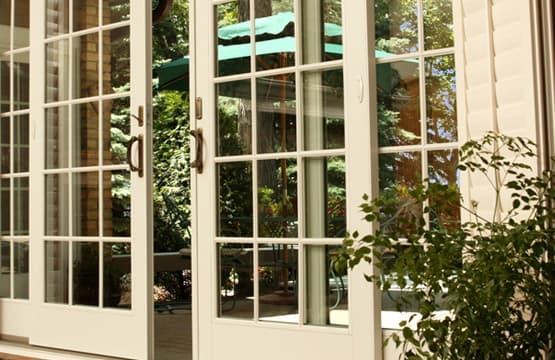 Wooden-Framed French doors
